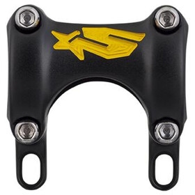 Spank Spike Stem DM 25/30, Ø31.8mm team shotpeen black/yellow